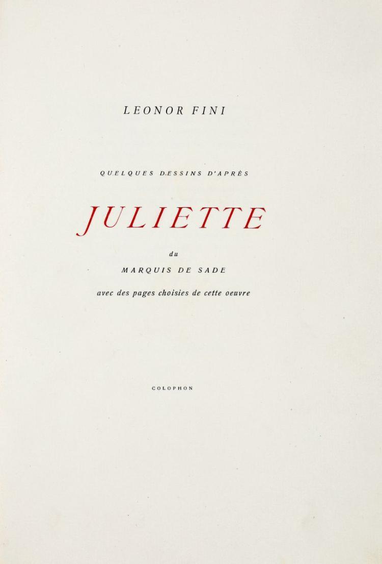 De Sade Donatien-Alphonse-François. Juliette. [S.n.t.]