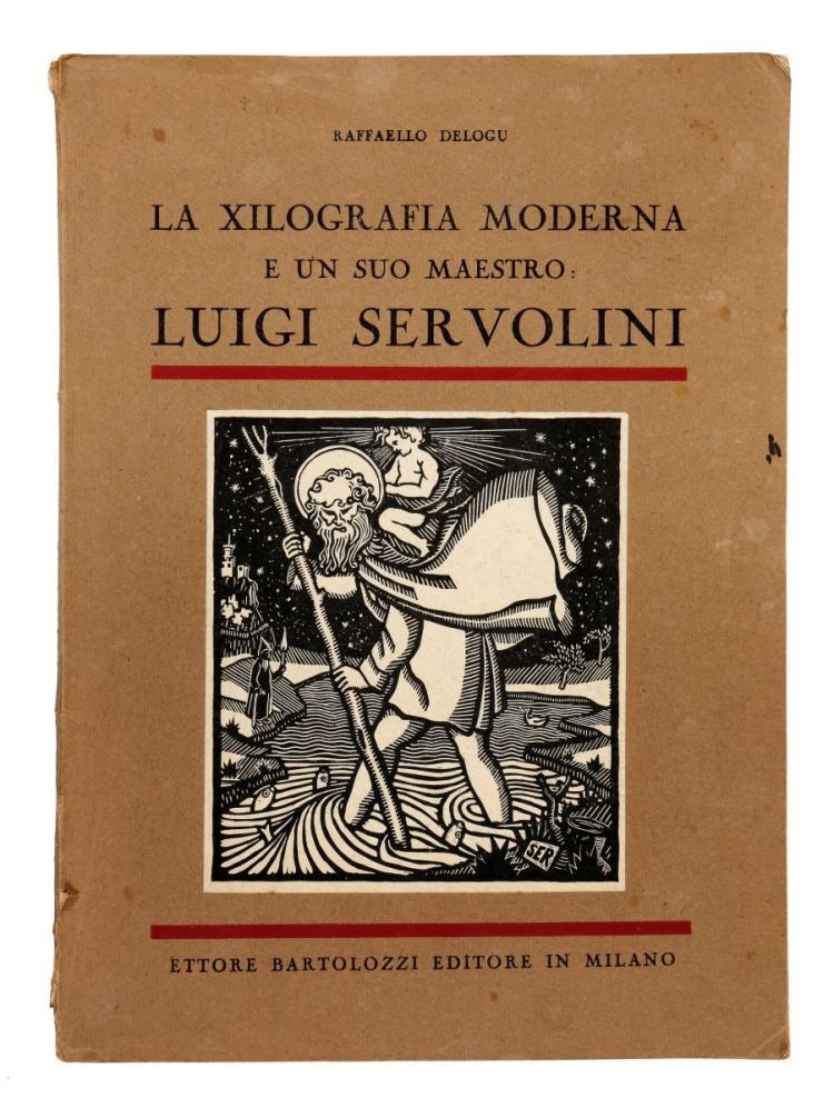 Delogu Raffaello. La Xilografia moderna e un suo maestro Luigi Servolini. Milano: Bartolozzi Ettore, 1933.