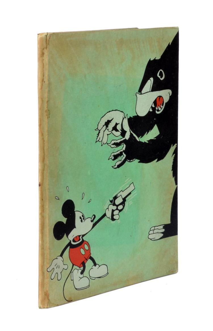 Disney Walter. Le avventure di Topolino (Mickey Mouse) Storielle e illustrazioni dello Studio Walter Disney N. 2. Torino: Frassinelli tipografo editore, 1933.