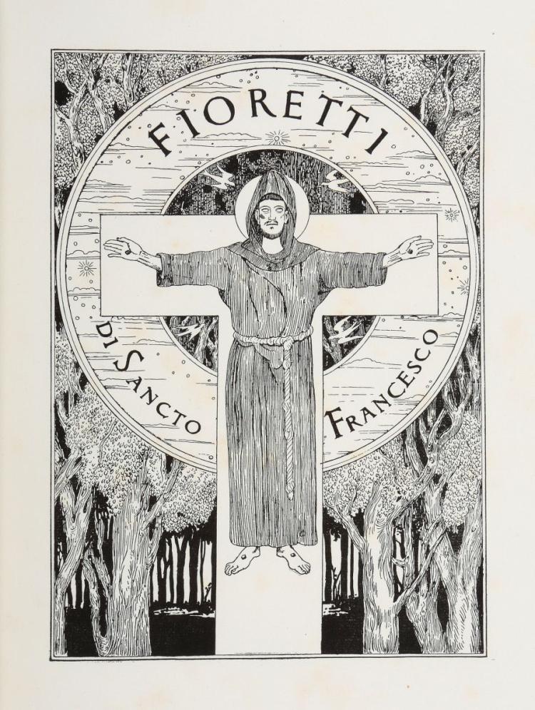 Doudelet Charles. Fioretti di Sancto Francesco. Spoleto: Claudio Argentieri, 1923.