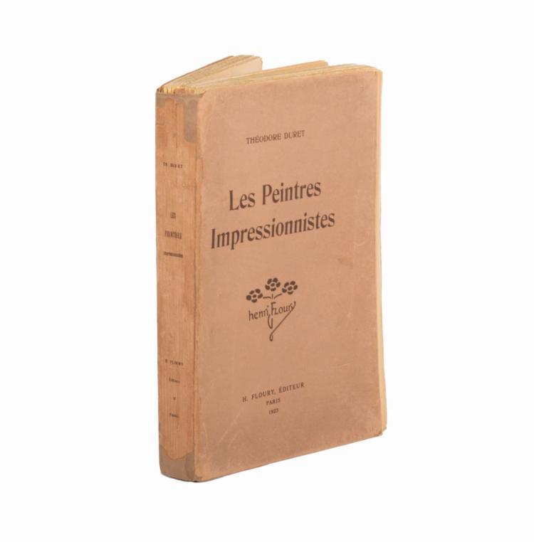 Duret Théodore. Les Peintres Impressionnistes. Paris: Henri Floury, 1922.