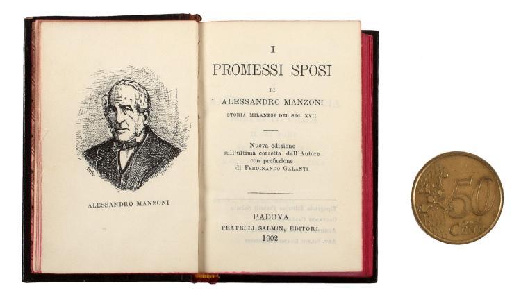 Manzoni Alessandro. I Promessi Sposi... storia milanese del sec. XVII. Padova: Fratelli Salmin, editori, 1902.