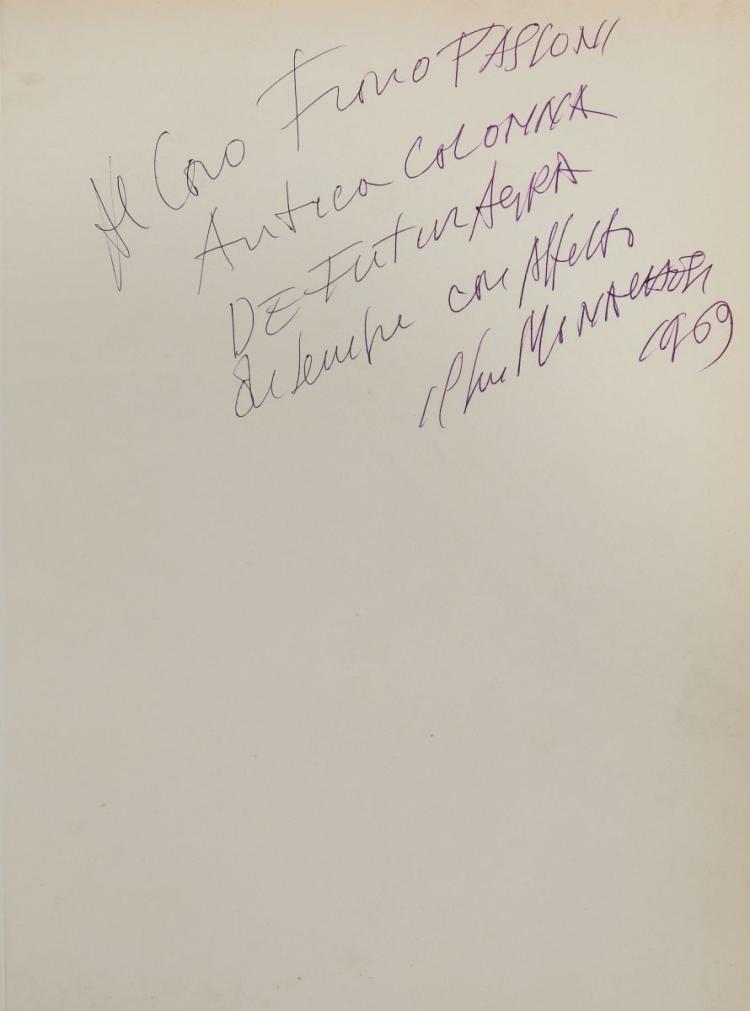 Monachesi Sante. Sculture - disegni di Sante Monachesi. Testo di Renato Giani. Due poesie di Michele Parrella. Roma: Edizioni Maestri d'oggi, 1957.