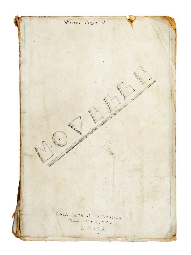 Mussolini Vittorio. Novelle. Recensioni della mia fatica. Roma: Casa Editrice Vitmussol, [1933-1934].