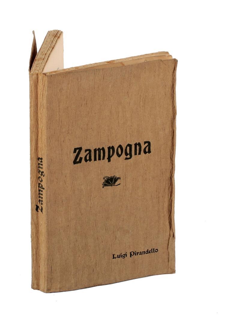 , Zampogna, Società editrice Dante Alighieri, Roma, 1901.