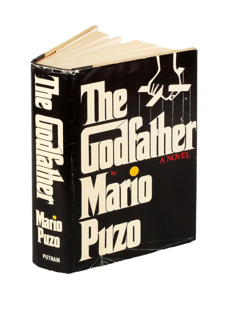 Puzo Mario. The Godfather. A Novel. New York: G. P. Putnam's Sons, [1969].