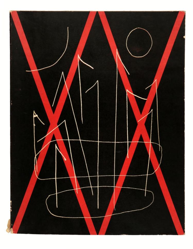 Riviste e Periodici. XX Siecle, Nouvelle serie, XX Annee, N° 10 (double), Mars 1958... L'ecriture Plastique. Paris: Fernand Hazan, 1958.