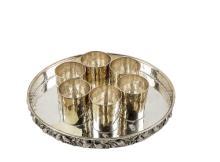 Brandimarte, Firenze, drinking set in argento. Silver drinking set, Brandimarte Firenze.