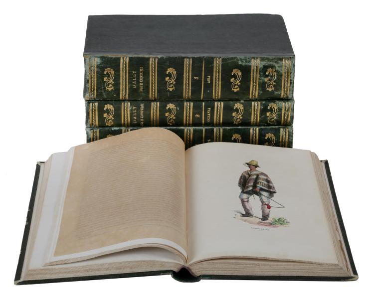 Dally Nicolas. Usi e costumi sociali, politici e religiosi di tutti i popoli del mondo. Torino: Stabilimento Tipografico Fontana, 1844-1847.