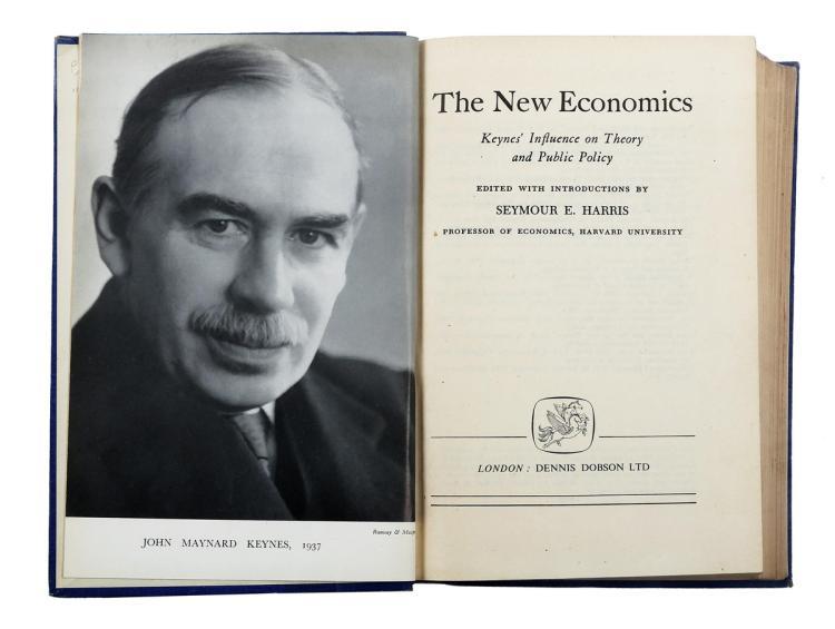 Harris Seymour Edwin. The new economics: Keynes' influence on theory and public policy. New York: Knopf, 1947.