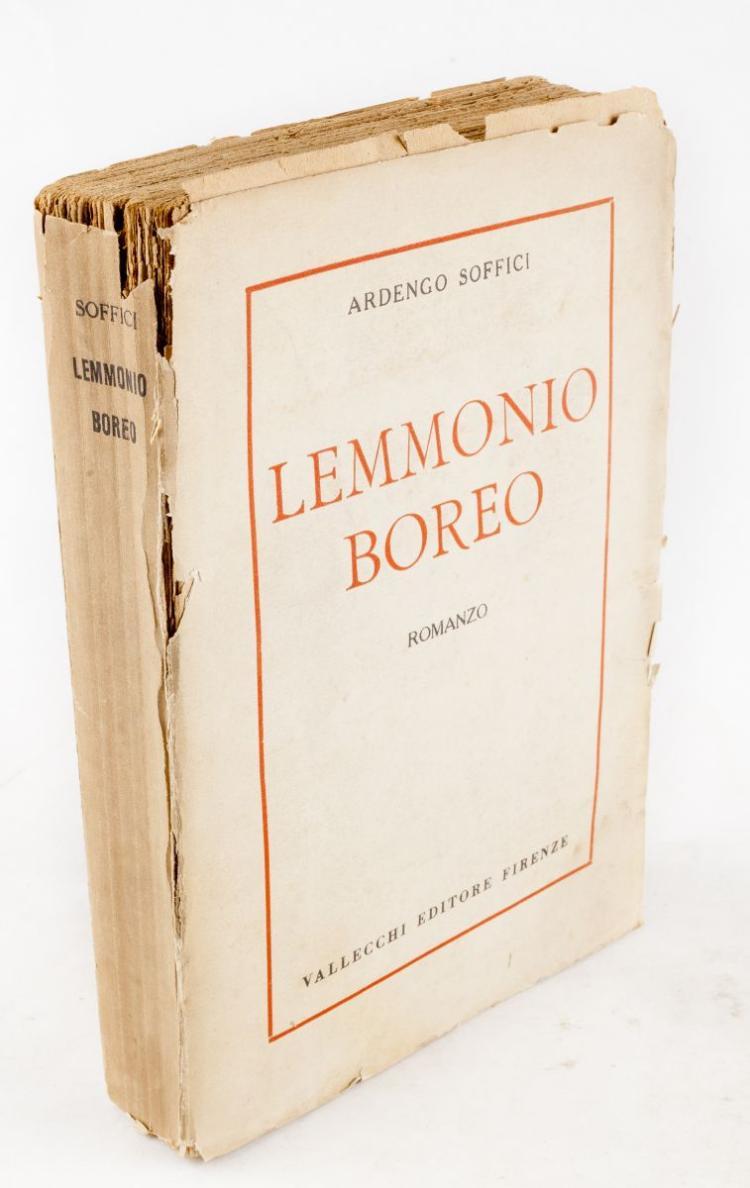 Soffici Ardengo. Lemmonio Boreo. Firenze: Vallecchi, 1921