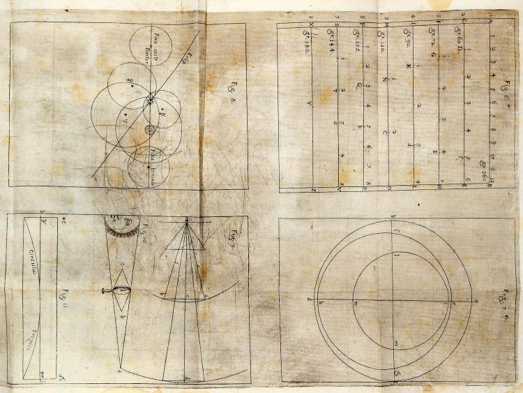 Titi Placido. Physiomathematica, sive Coelestis philosophia naturalibus hucusque desideratis ostensa principijs... Mediolani: ex typographia Francisci Vigoni, 1675.