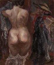 Grosz George. Nudo femminile. 1937