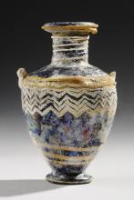 HELLENISTIC GREEK CORE-FORMED GLASS HYDRIA