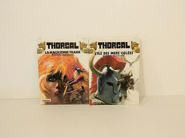 ROSINSKI et VAN HAMME, Thorgal, ensemble de 2 albums :