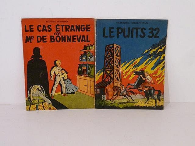 CRAENHALS F., Les Nouvelles Aventures de Rémy et Ghislaine, ensemble de 2 a