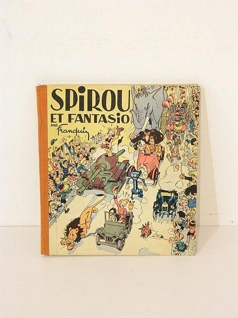 FRANQUIN, Les Aventures de Spirou et Fantasio (édition originale de 1948, p