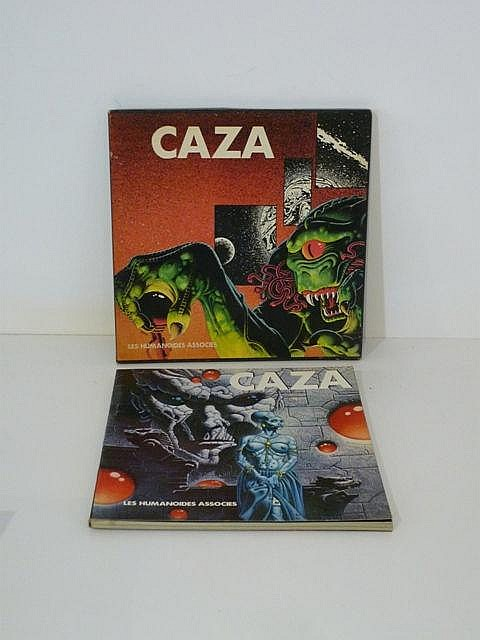 CAZA, coffret signé et daté 1979, n° 729/999 ; on y joint un cahier supplém