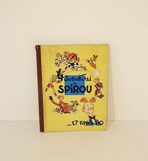 FRANQUIN, 4 aventures de Spirou et Fantasio,