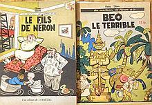 SLEEN M., ensemble de 22 albums Les Aventures de Néron et Cie,