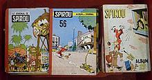 Le journal de Spirou, ensemble de 19 albums reliés par l'éditeur : n° 13, 1