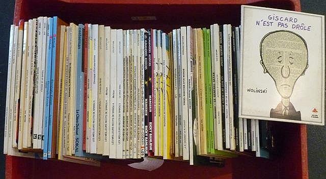 Important varia de bandes dessinées [états divers].
