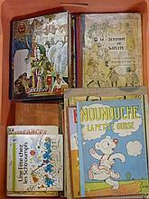 Ensemble de 45 livres anciens d'enfants [état moyen].