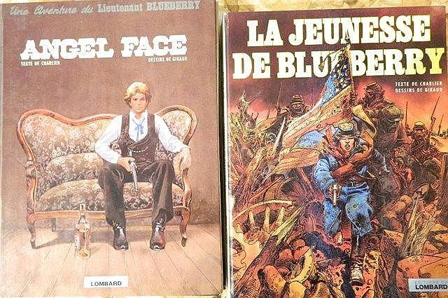 Ensemble de 10 albums : 7 albums Une aventure du Lieutenant Blueberry, CHAR