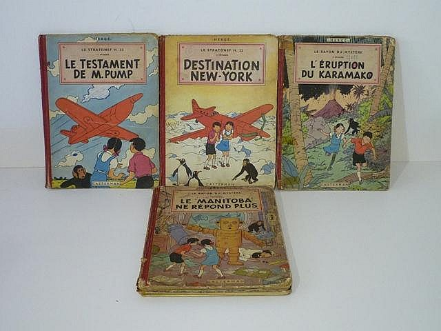 HERGÉ, REMI Georges dit (1907-1983), Les Aventures de Jo, Zette et Jocko, e