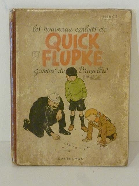 HERGÉ, REMI Georges dit (1907-1983), Les Nouveaux Exploits de Quick et Flup