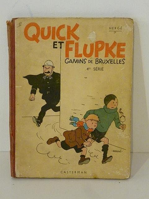 HERGÉ, REMI Georges dit (1907-1983), Quick et Flupke, Gamins de Bruxelles (
