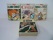 GOSCINNY R. et UDERZO A., Une aventure d'Astérix le Gaulois, ensemble de 13