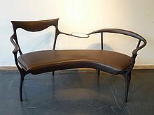 CECCOTTI COLLEZIONI - LAZZERONI Roberto (1950) Canapé Design à deux places