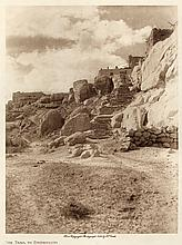 Edward S. Curtis: The Trail to Shipaulovi, from The North American Indian, volume 12, 1906, photogravure