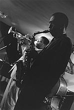 Gerald Cyrus: Donald Harrison & Terence Blanchard, Hollywood, CA, 1988, silver print