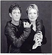 Timothy Greenfield-Sanders: Lou Reed and Laurie Anderson, 2000, vintage gelatin silver print