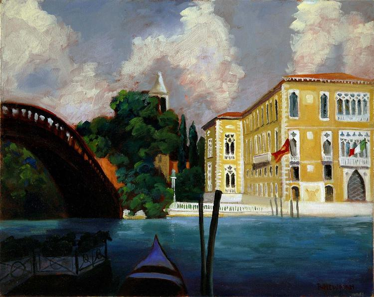 Accademia Bridge in Venice