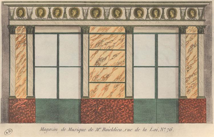 Parisian Boutique, Rue de la Roi 76, 1925
