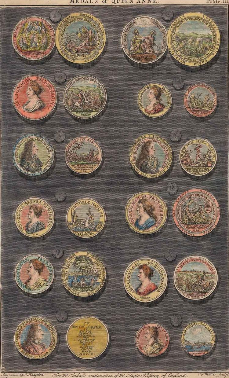 Medals of Queen Anne