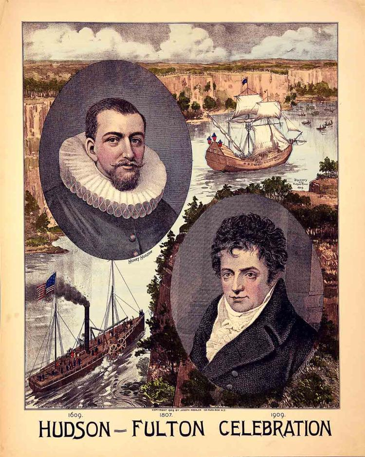Historic Hudson River Tricentennial