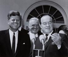 John F. Kennedy & Bob Hope