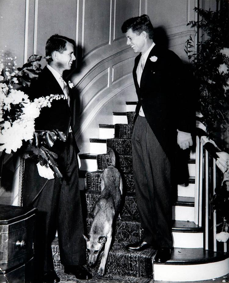 John and Robert Kennedy in Formal Attire