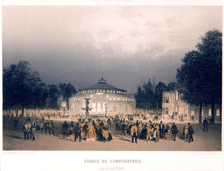 Cirque De L'Imperatrice, Paris