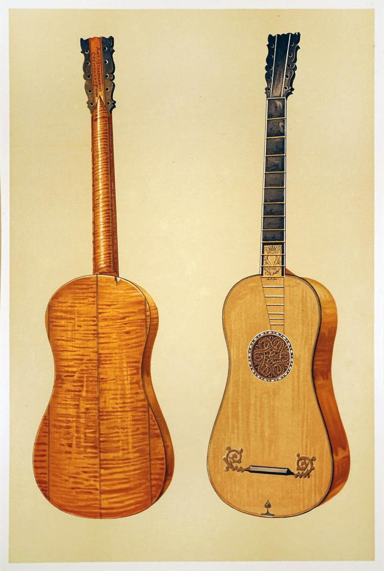 Antonius Stradivarius Guitar