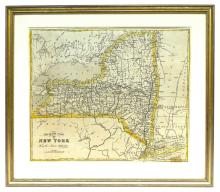 C-1850 Map of New York State