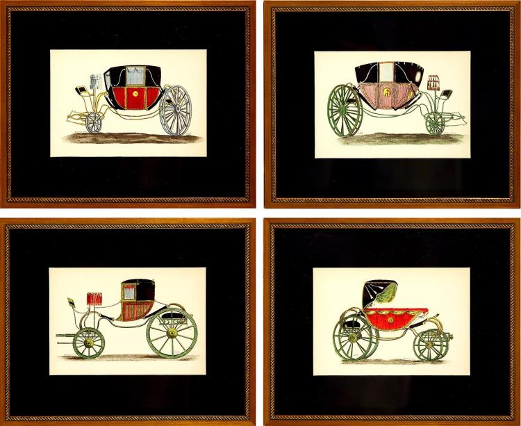 French Carriage Quartet