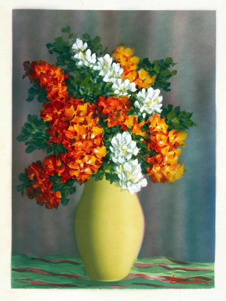 Yellow Vase Still Life