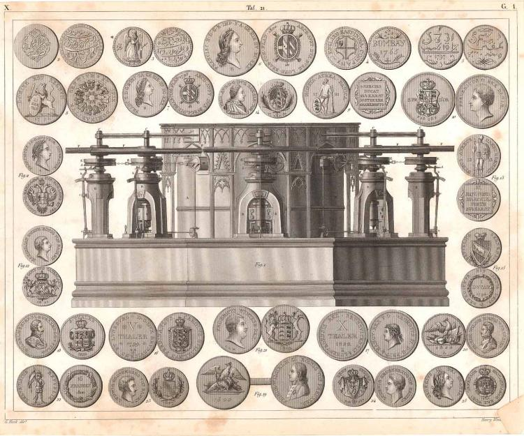 Coin Stamper & National Coins