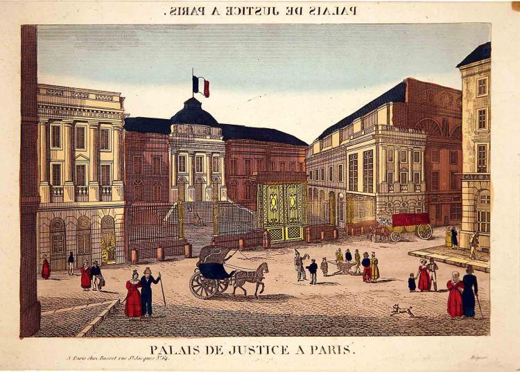 Palais de Justice a Paris
