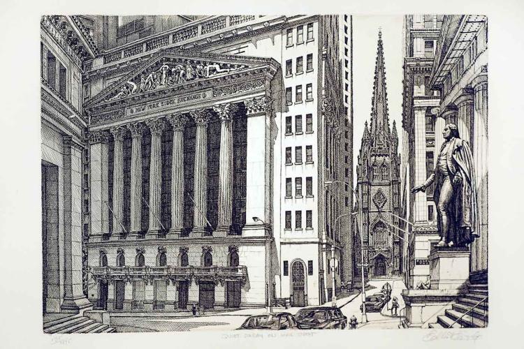 Quiet Sunday on Wall Street